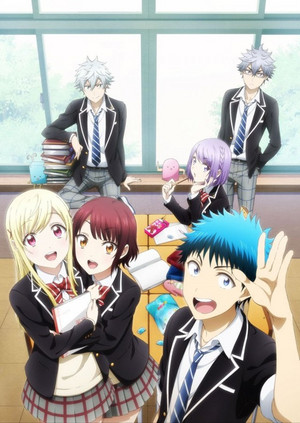 Yamada-kun 2nd TV anime key visual