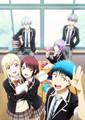 Yamada-kun 2nd TV Аниме key visual