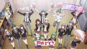 Yamada-kun characters