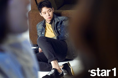 JYJ wallpaper with a business suit and a well dressed person called Yoochun for Star1 Magazine April 2015 Issue