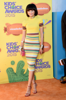Zendaya at the 28th Annual Nickelodeon Kids Choice Awards in Inglewood (March 28th)