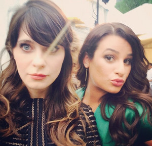Zooey and Lea