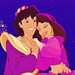aladdin and his love - aladdin-and-jasmine icon