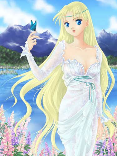 msyugioh123 wallpaper titled anime girl princess