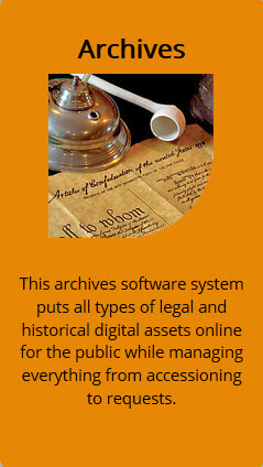 archives software system