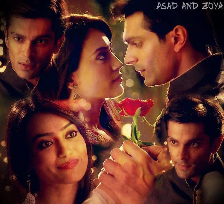 asad zoya in love 5 - Qubool Hai Fan Art (38351820) - Fanpop
