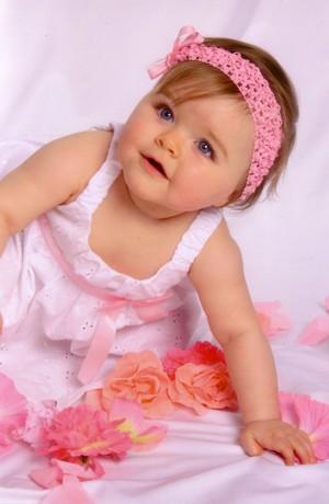 baby girl 写真