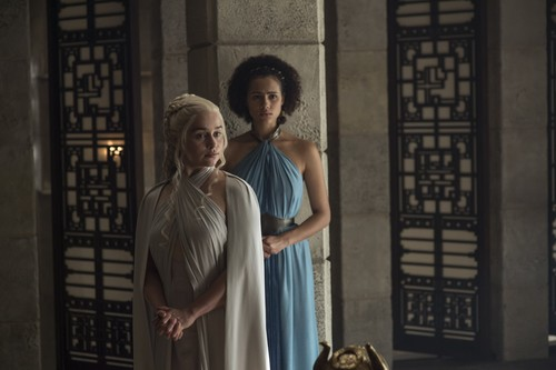 Daenerys Targaryen wallpaper called daenerys and missandei