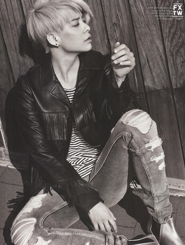 f(x) Amber Elle Korea 2015