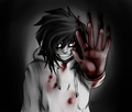 he kills and insane  - jeff-the-killer photo