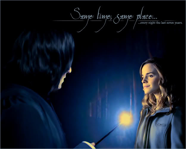 hermione and prof. snape 2