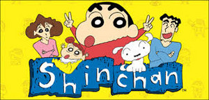 logo of shin chan