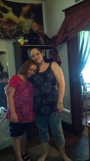 me and my sis drayah