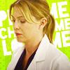 Meredith Grey picha with a portrait entitled meredith grey