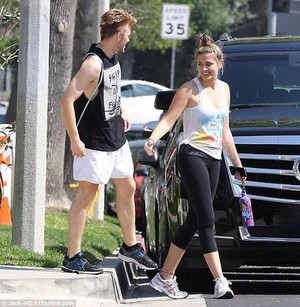 paris jackson in calabasas 2015