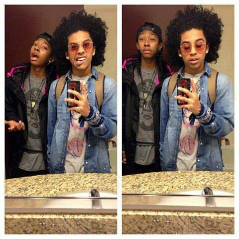 Mindless Behavior wallpaper probably with a sign entitled princeton and ray