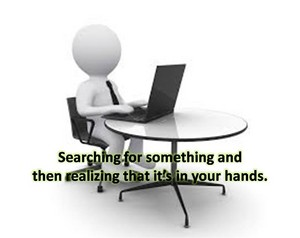 frases about searching