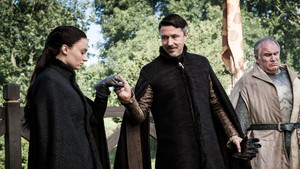 sansa with petyr and yohn royce