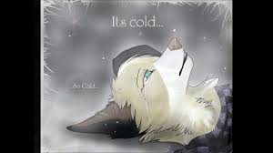 so cold, and and sad, i cant feel a bone....in my body....