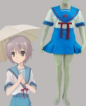 suzumiya haruhi no yuutsu North High School female Summer uniforms