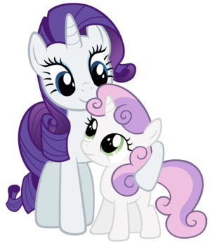sweetie belle sister