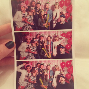 taylor at abigail's 25th birthday party