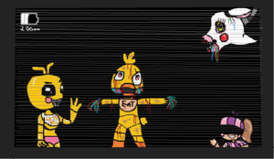 the girls of fnaf 2