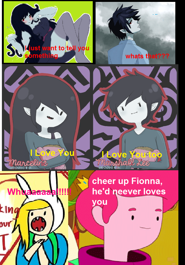 Adventure Time Marshall Lee And Fionna Comic