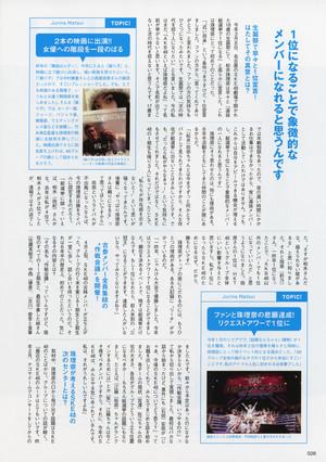 松井珠理奈(じゅりな)AKB48総选挙公式ガイドブック2015