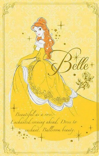 Beauty and the Beast wallpaper possibly containing anime titled                                Belle