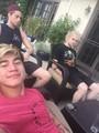 Calum, Luke and Mikey