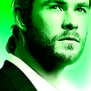 Chris Hemsworth photo probably containing a portrait entitled              Chris H