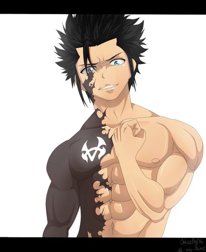Fairy Tail Обои entitled *Evil Gray Fullbuster*
