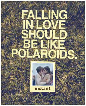 Falling in amor