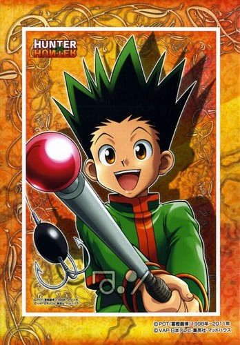 hunter x hunter wallpaper with animê titled Gon