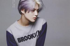 [HQ] Purple Hair Taemin 태민「Oh Boy!」5月号