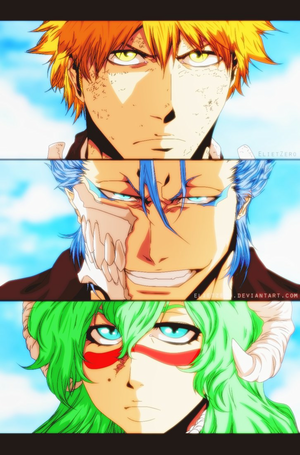 *Ichigo/Grimmjow/Nelliel : The New Alliance*