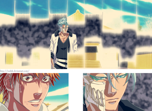 *Ichigo Shocked Grimmjow Returns*
