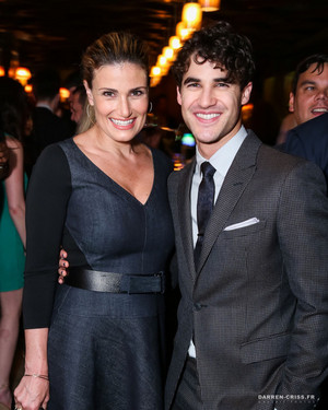 Idina and Darren