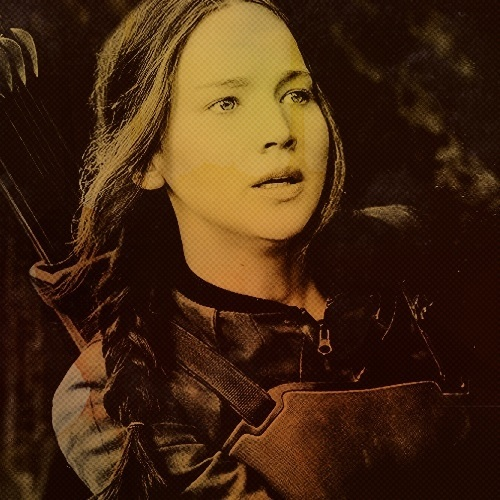 Katniss Everdeen wallpaper possibly containing a portrait and anime titled ★ Katniss Everdeen ★