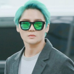 JYJ fondo de pantalla probably containing sunglasses entitled Kim Junsu