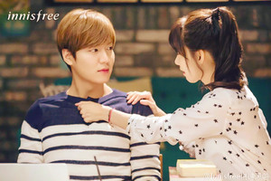 Lee Min Ho and Yoona for Innisfree