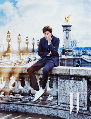 Lee Min Ho for W Magazine