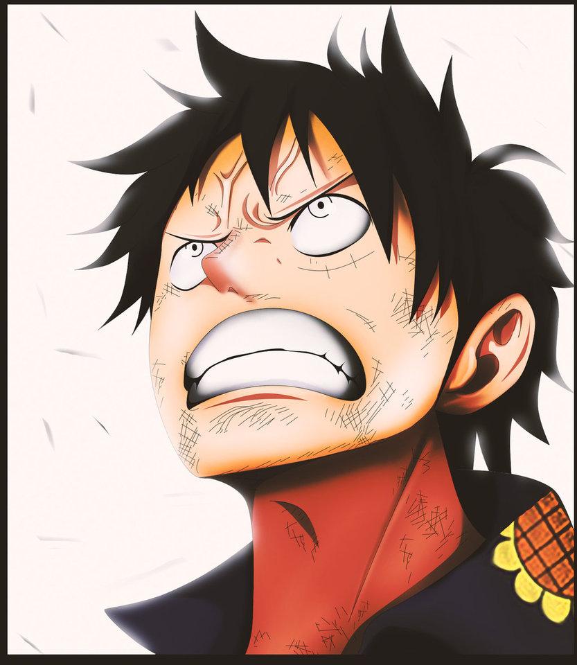 *Luffy Ready For Gear Fourth*