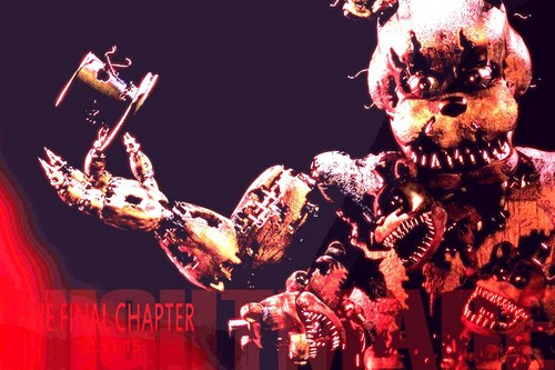 "Five Nights at Freddy's پیپر وال entitled ""NIGHTMARE""?"