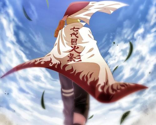 Naruto Shippuuden fond d'écran titled *Naruto Uzumaki Seventh Hokage*