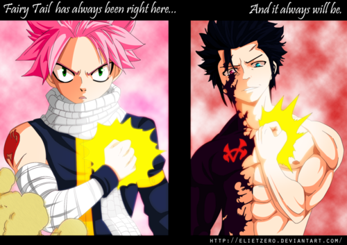 Fairy Tail wallpaper with anime titled **Natsu vs Gray**
