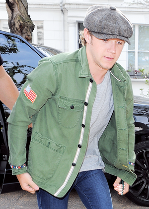Niall Horan at studio in West London, 24 April 2015.