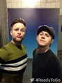 Olly and Niall