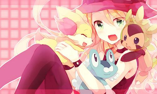 Pokémon fond d'écran entitled Pokemon Serena